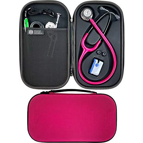 Pod Technical Cardiopod II Stethoskop-Tasche für alle Littmann Stethoskope – Raspberry