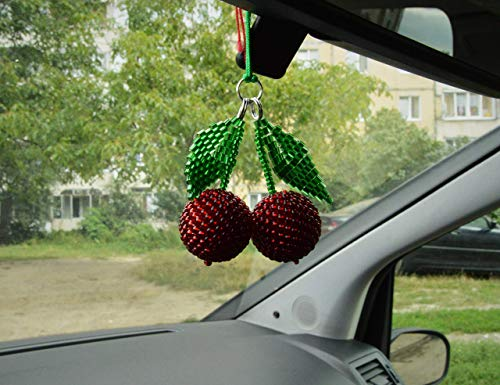 Red Cherries Car Accessories ~ YOU CHOOSE OPTION
