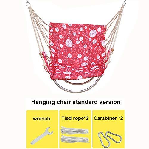 Hammock Relax Hangstoel, grote hangstoel, voor superieur comfort en duurzaamheid, perfect voor binnen en buiten, slaapkamer, deck yard tuin