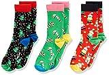 Happy Socks Christmas Gift Box Calzini, Multi, 4-6 Anni Unisex-Bambini