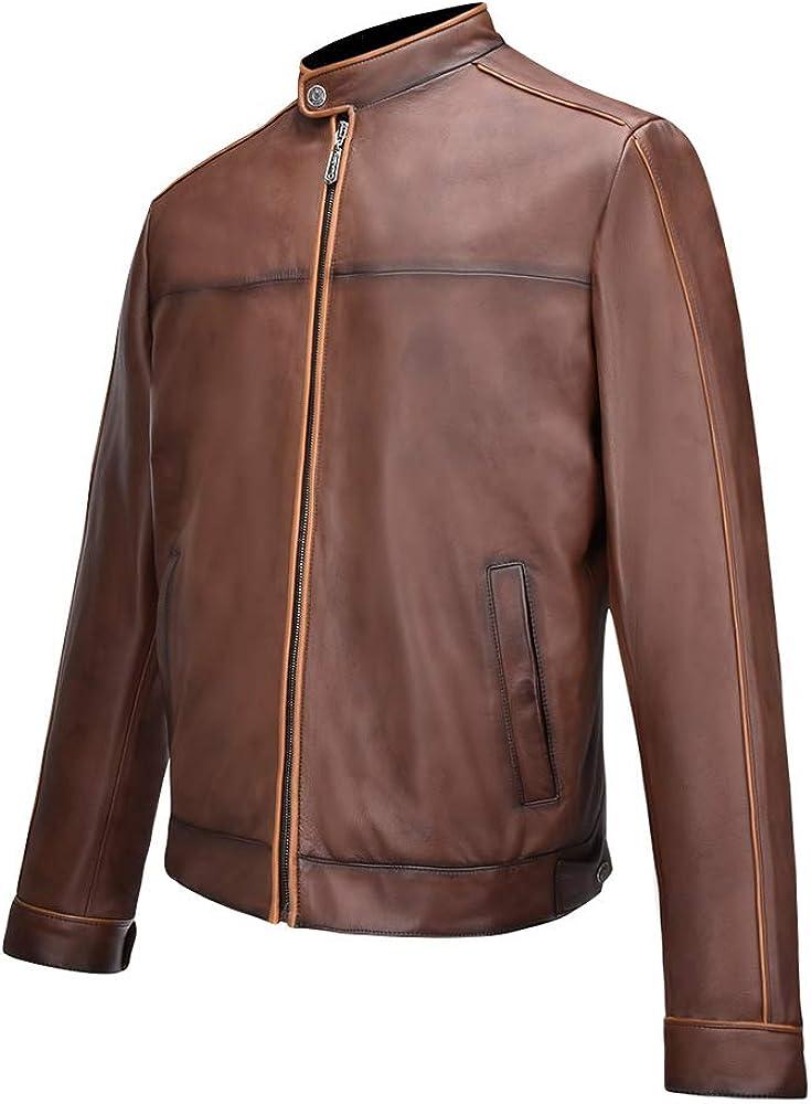 CUADRA Men's Jacket in Genuine Leather