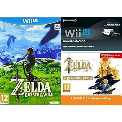 The Legend of Zelda: Breath of the Wild [Nintendo Wii U] + Expansion Pass [Wii U Download Code]