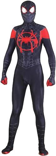 XINFUKL Venom Spiderhomme Costume HalFaibleeen Cosplay DéguiseHommests Adultes Party Justaucorps Film Accessoires,noir1-XXXL