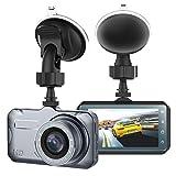 JSDTU Dash Cam, Kamera für Autos mit Full HD 1080P 170 Grad Super Weitwinkel Kameras, 3.0'TFT...