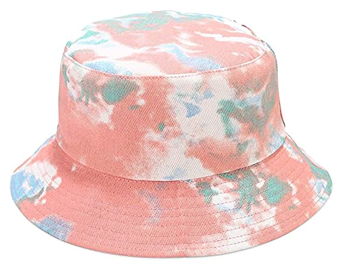Seupeak Nuovi Cappelli da Sole Solare per Uomo e Donna Leggero Turning Shopping Shopping Outdoor Beach Beach Secchio Caps Unisex Sun Hat Cotton (Color : Pink)