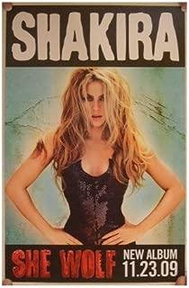 Shakira Poster She Wolf