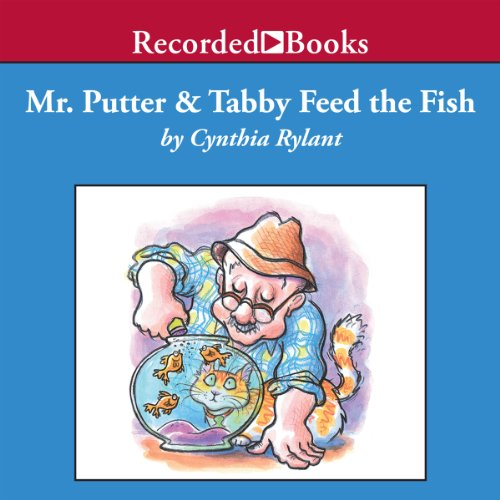 Mr. Putter and Tabby Feed the Fish audiobook cover art