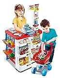 Inside Out Toys Supermercato e Carrello della Spesa Giocattolo per Bambini