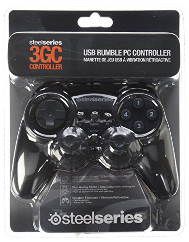 SteelSeries 3GC Dual Vibration PC Gaming Controller