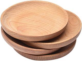 Luminiu Runde Schale, Holzschälchen, Snackschüssel, Holzsc