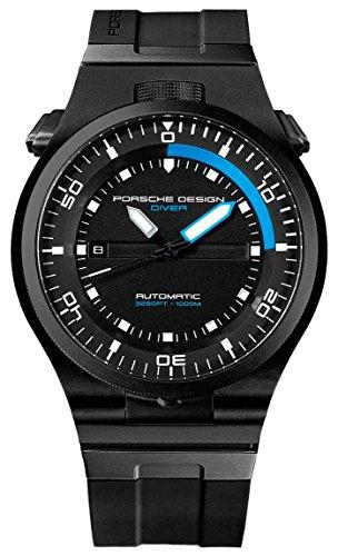 Porsche Reloj analogico para Hombre de automático con Correa en Cauch
