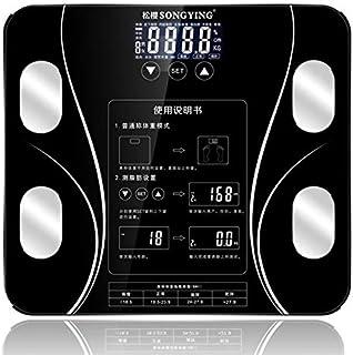 Báscula Inicio Báscula De Grasa Corporal Baño Peso Humano Digital Básculas Mi Pantalla Lcd De Piso Índice Corporal Básculas De Pesaje Inteligentes Electrónicas