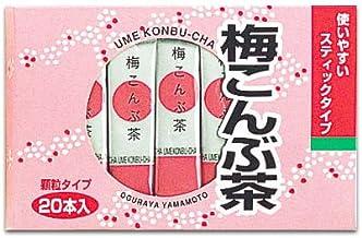 梅こんぶ茶 40グラム入り(2グラム×20袋) 小倉屋山本