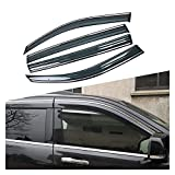 MYDH Windabweiser Autofenster Sun Rain Shield Shelter Protector Cover Für Jeep Grand Cherokee WK2...