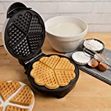 Best Non Belgian Waffle Makers - Heart Waffle Maker- Non-Stick Waffle Griddle Iron Review