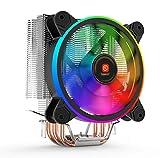 RAmpi Peripherals Disipador Ventilador CPU RGB para PC procesadores...