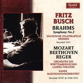 Fritz Busch - 1919?, 1931, 1948-51
