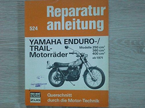 Yamaha Enduro / Trail- Motorräder (ab 1971). Modelle 250 ccm, 360 ccm, 400 ccm.