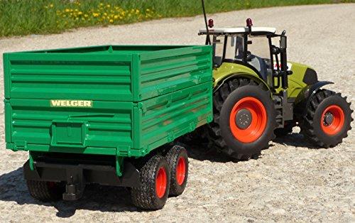RC Auto kaufen Traktor Bild 4: WIM-SHOP RC Traktor CLAAS Axion 870 Anhänger in XL Länge 72cm Ferngesteuert*