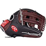Rawlings R9 Series Baseball Glove, Black, 11.75, Right Hand Throw
