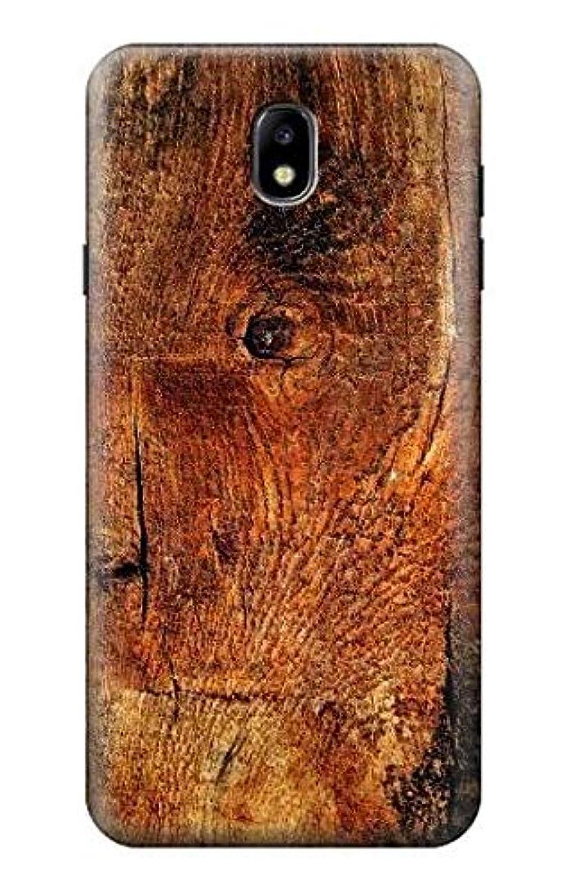 R1140 Wood Skin Graphic Case Cover for Samsung Galaxy J7 (2018), J7 Aero, J7 Top, J7 Aura, J7 Crown, J7 Refine, J7 Eon, J7 V 2nd Gen, J7 Star