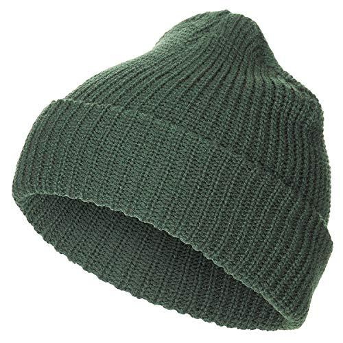 MFH Bonnet Tricot Double Fin polyacrylique (Olive)