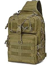 Lixada 20L Tactische Assault Pack Waterdichte Militaire Sling Rugzak Molle Leger Tas voor Outdoor Camping Wandelen Jacht