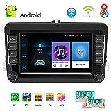 Autoradio 2 DIN 7'Android 8.1 Car Lettore multimediale Auto Stereo WiFi GPS Navigazione Autoradio per Skoda V/W Passat B6 Polo Golf