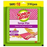 Cleans any mess in a single wipe The cellulose based sponge cleans any mess in a single swipe Absorbs water 10 times its own weight Does not leave behind any water marks while swiping Completely lint free and 100% scratch free cleaning