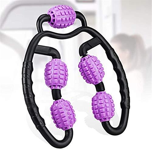 Atecou Foam Roller Trigger Point Muscle Roller High Density Foam Massage Roller Deep Tissue Roll Massager For Legs Forearm,Neck,Elbow,Arms