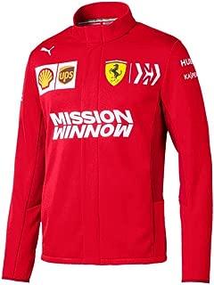 Ferrari Scuderia 2019 F1 Men's Team Softshell Jacket Red