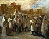 Eugene Delacroix – Le Sultan ABEL EL Rahman c. 1840