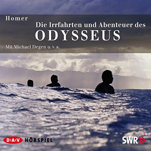 Die Irrfahrten und Abenteuer des Odysseus                   Autor:                                                                                                                                 Homer                               Sprecher:                                                                                                                                 Michael Degen                      Spieldauer: 3 Std. und 13 Min.     17 Bewertungen     Gesamt 4,5