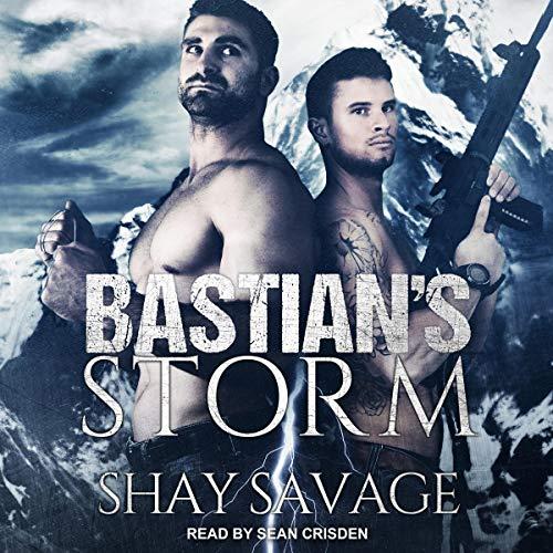 Bastian's Storm audiobook cover art