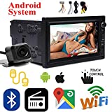 For 2005-2018 Suzuki SX4 Android 5.1 Auto Car Stereo Double Din, WiFi Connection, Support Fastboot, Mirror Link, SWC, Free Camera, AUX, USB, Subwoofer,7 inch Bluetooth,Touch Screen MP5 Player