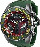 Invicta Star Wars Men's 50mm Boba Fett Pro Diver Limited Edition Quartz Chronograph Strap Watch