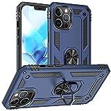 Pegoo Custodia iPhone 12 Pro MAX,Silicone Cover Armatura Antiurto Copertura Cassa Custodia per Apple iPhone 12 Pro MAX (6.7) (Blu scuro)