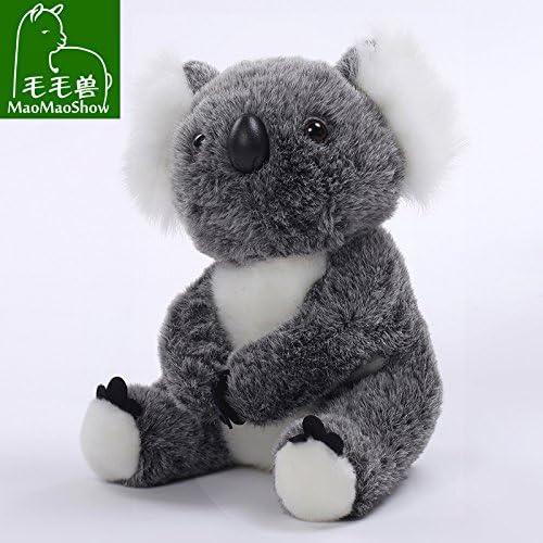 DONGER B Spielzeug Puppe Simulation Koalab Koala Puppe Tuch Spielzeug Geburtstagsgeschenk Weißich, Silbergrau, 16cm + 20cm   Kombination