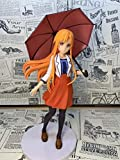 HYJWYAS Sword Art Online Yuuki Asuna Umbrella PVC Anime Dibujos Animados Juego Carácter Modelo Estatua Figura Juguete Coleccionables Decoraciones Regalos Favorito por Anime Fan