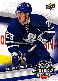 (CI) William Nylander Hockey Card 2016-17 UD Toronto Maple Leafs Centennial Classic 2 William Nylander