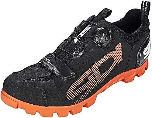 Sidi SD15 schuhe Men schwarz Orange 2019 Schuhe
