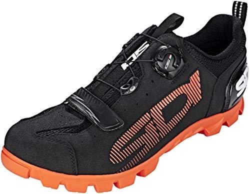 Sidi SD15 Schuhe Herren Black/orange Schuhgröße EU 39 2021 Rad-Schuhe Radsport-Schuhe