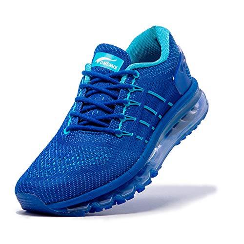 ONEMIX Zapatillas de Deporte para Hombre, Aire Libre y Deporte Transpirables Zapatos Gimnasio Running Sneakers
