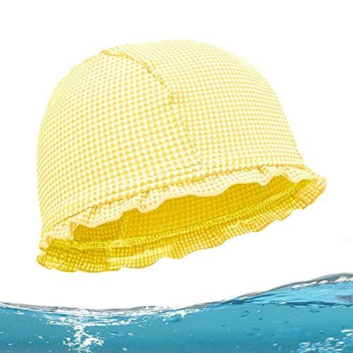 Gorros de Natación para Niños Largo Infantil Gorro de Baño para Niños Niña para el Cuidado del Cabello y de la Gorro de Natación para Niños Gorro de Natación Transpirable Gorros de natación