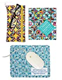 Bonnie K. Hunter's Quilter's Tech Set: Microfiber Mouse Mat, Cleaning Cloth, Mini Cleaner & Pouch