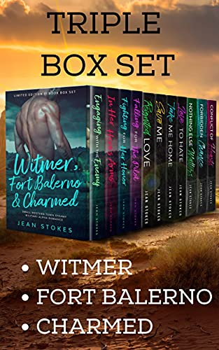 Triple Box Set (Witmer + Fort Balerno + Charmed) 11 Books: Small Town Western Military Steamy Romance (English Edition)