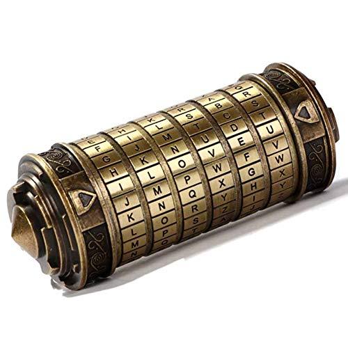 Da Vinci Code Mini Cryptex Lock Anniversary Valentine's Day Romantic Birthday Gifts for Her