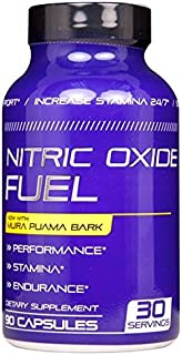 Nitric Oxide Fuel Male Enhancing Pills (1 Month Supply) - Enlargement Booster for Men - Increase Size, Strength, Stamina - Energy, Mood, Endurance Boost All Natural Performance Supplement Made in USA