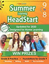 Lumos Summer Learning HeadStart, Grade 8 to 9: Includes Engaging Activities, Math, Reading, Vocabulary, Writing and Language Practice: ... Resources for Students Starting High School