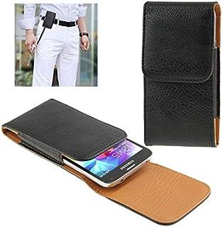 f65fec428e9 Fashion & simple Elefante Textura Vertical Estilo Funda de Cuero con Clip de  Cinturón para iPhone